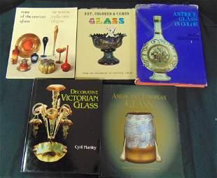 Five books on Art Glass