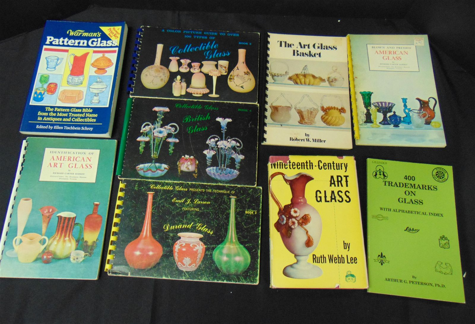 Group of early Art Glass books