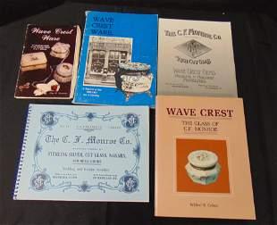 Three books on Wave Crest