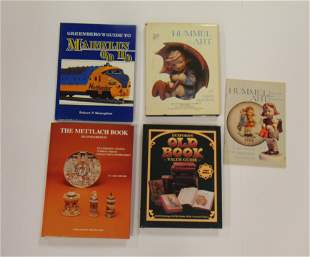 Five books on Collectibles and Antiques