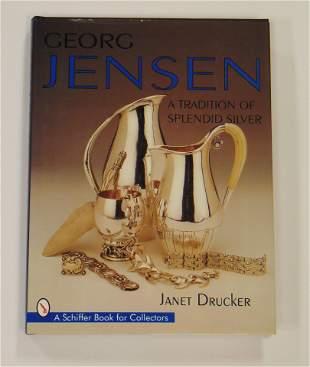 """Book """"George Jensen"""" by Drucker"""