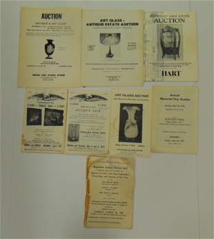 Rare grouping of early catalogs