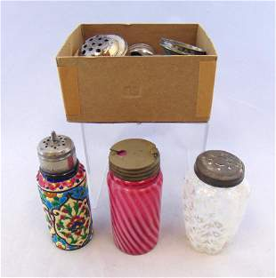 Group of three condiment items