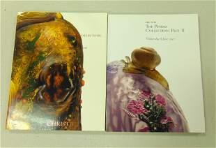 Important Christies Daum catalogs