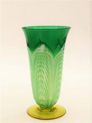 Durand green pulled feather parfait