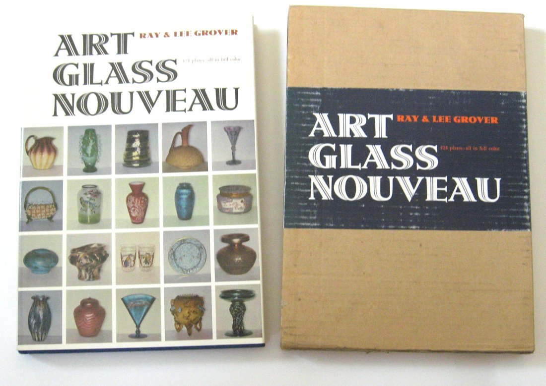 "12: book ""Art Glass Nouveau"" by Grover"