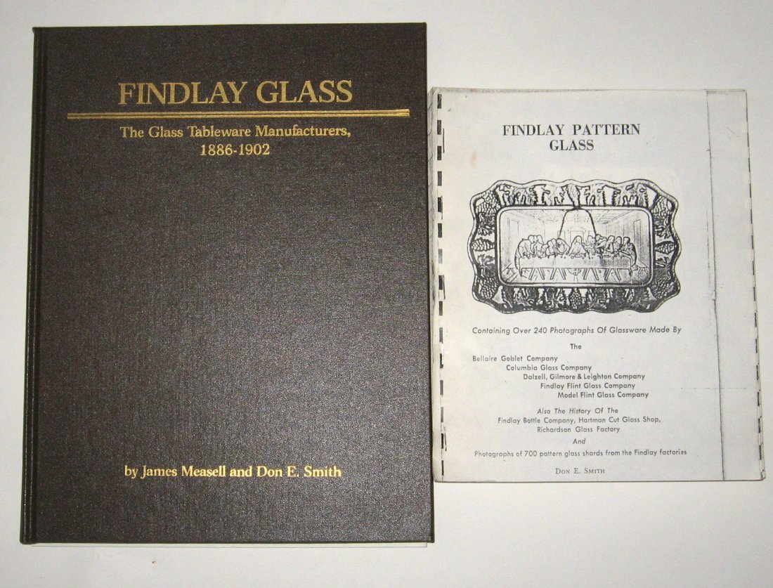 14: 2 books on Findlay glass,