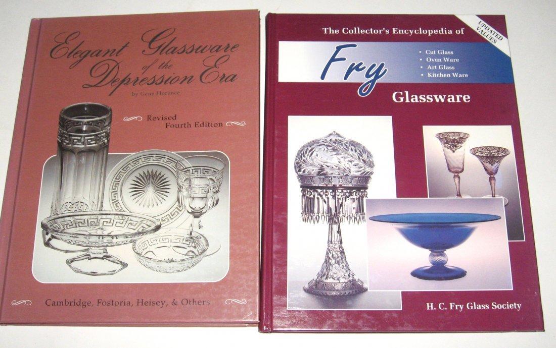 "24: 2 books ""The Collector's Encyclopedia of Fry"""