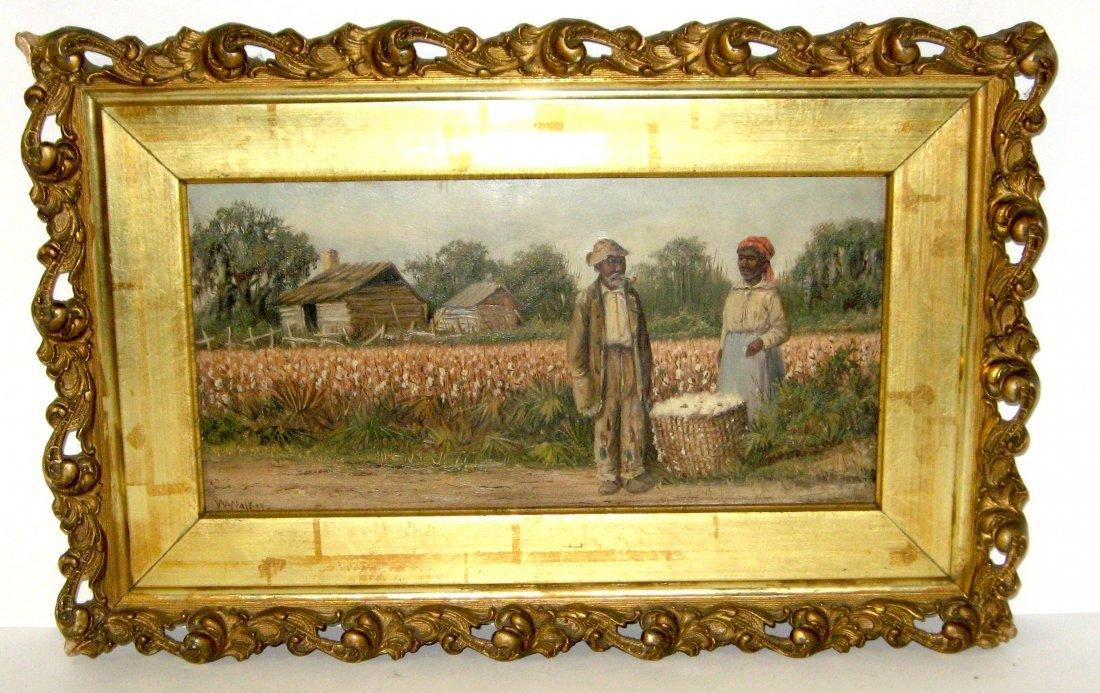 98: Rare William Aiken Walker painting,