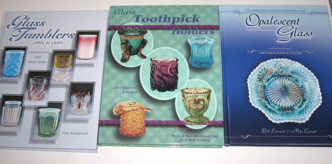 "5 books ""Glass Tumblers 1860-1920"""