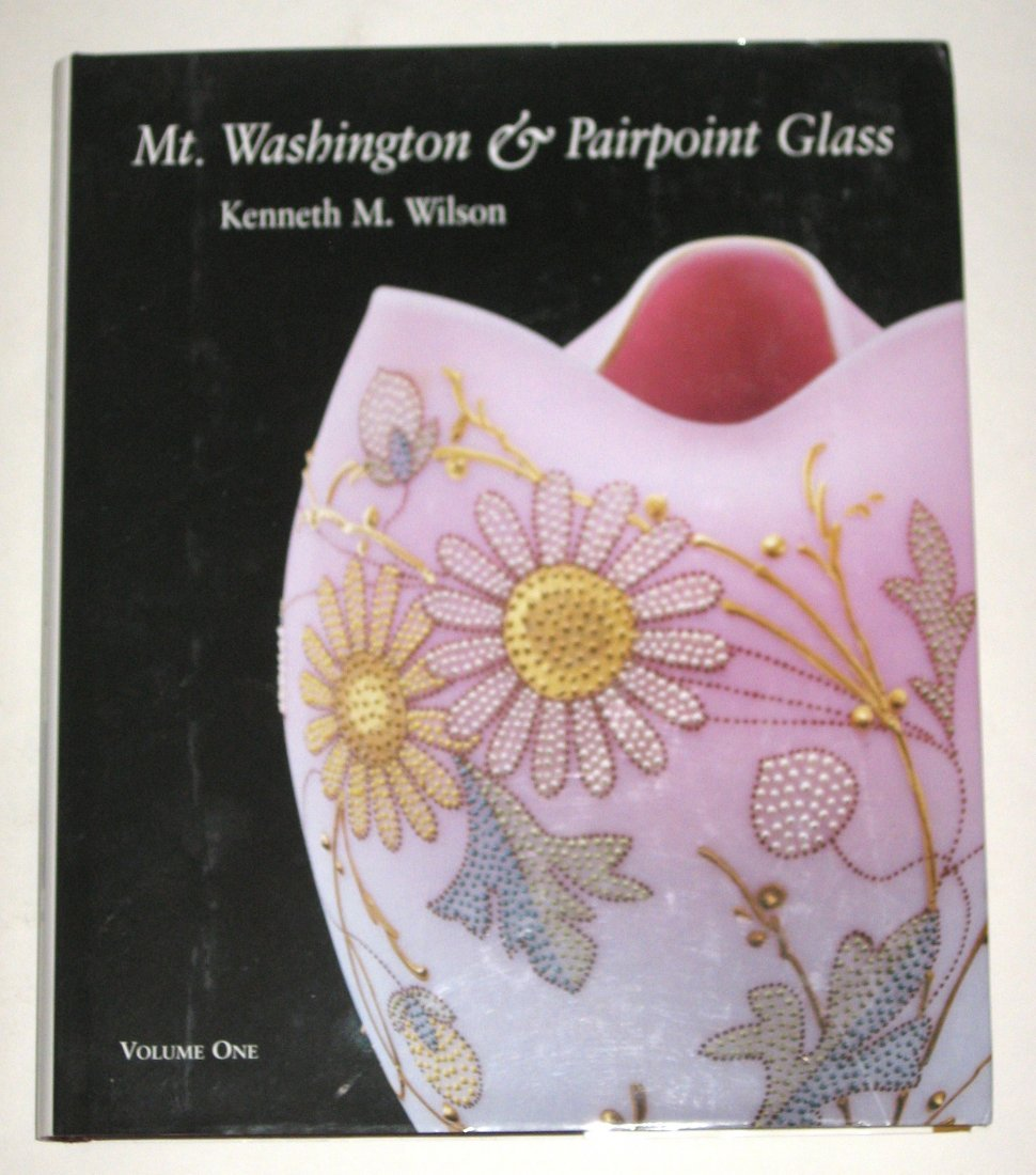"Book ""Mt Washington & Pairpoint Glass"""