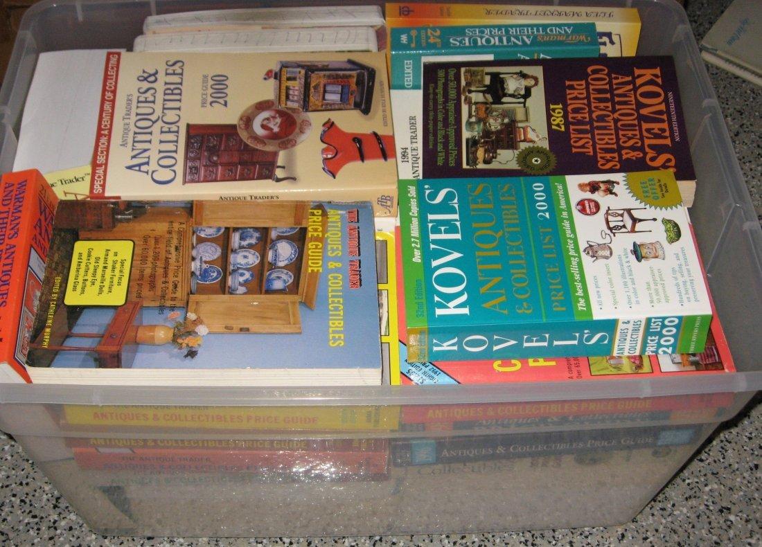 Appox 35 Antique price guides.