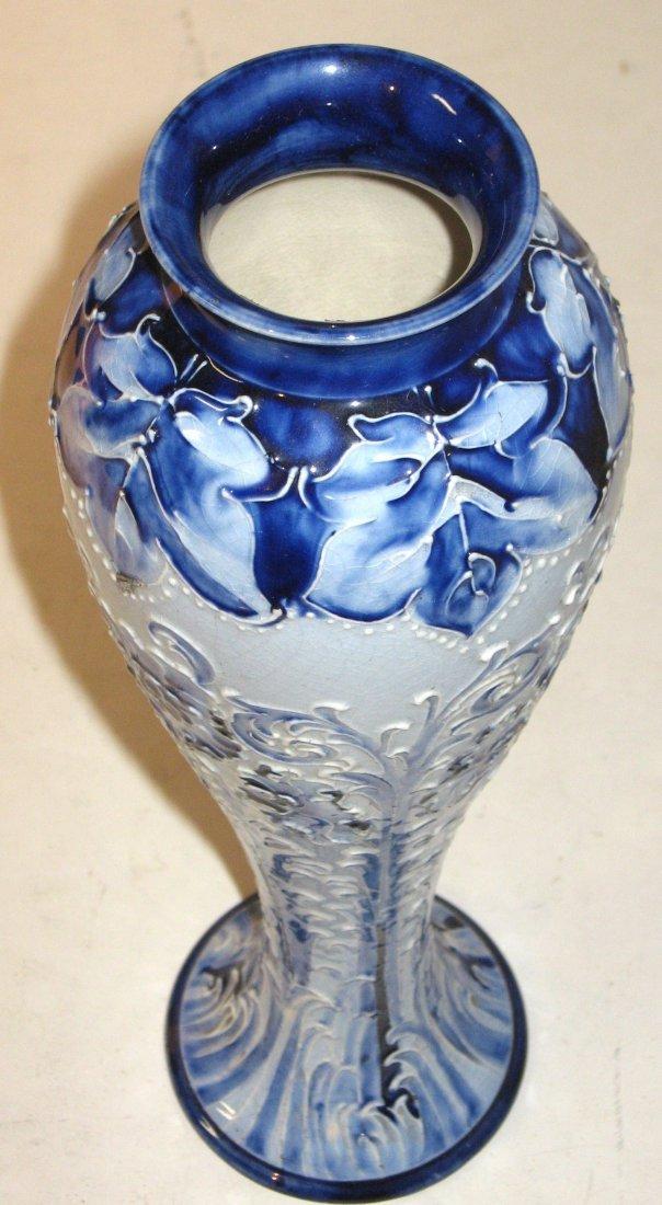 Moorcroft Macintyre Florian ware vase, - 4