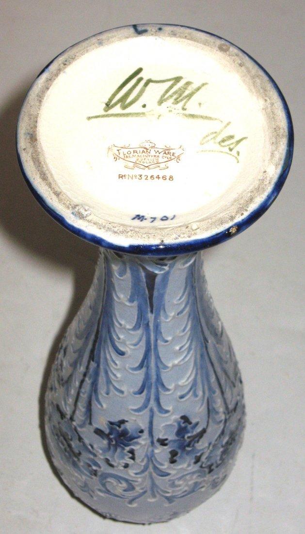 Moorcroft Macintyre Florian ware vase, - 5