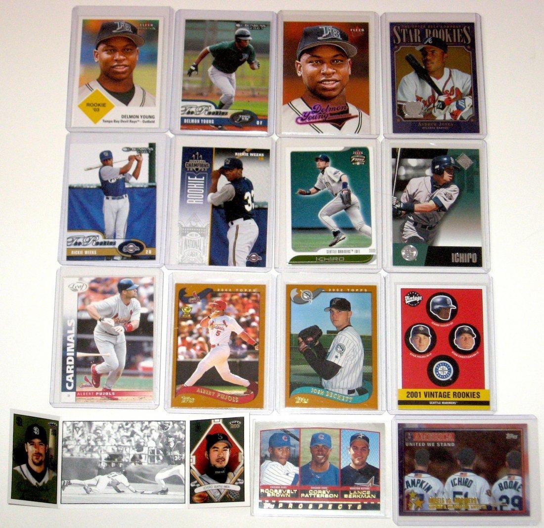 Cards Jones, Young, Weeks, Ichiro, Pujols