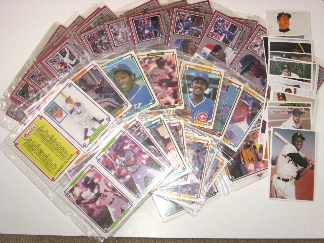3 giant vintage baseball card sets,