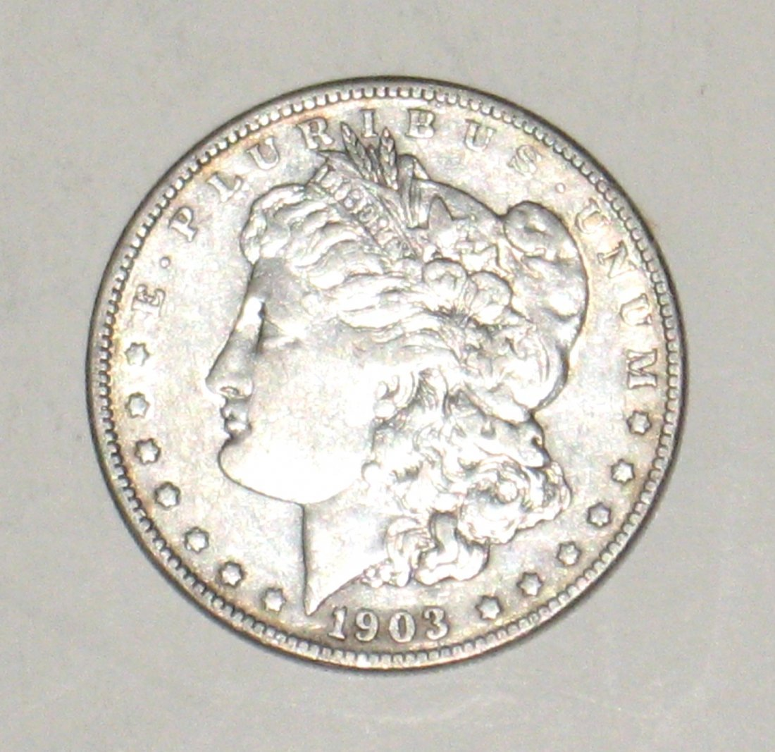1903-S Morgan Silver Dollar,