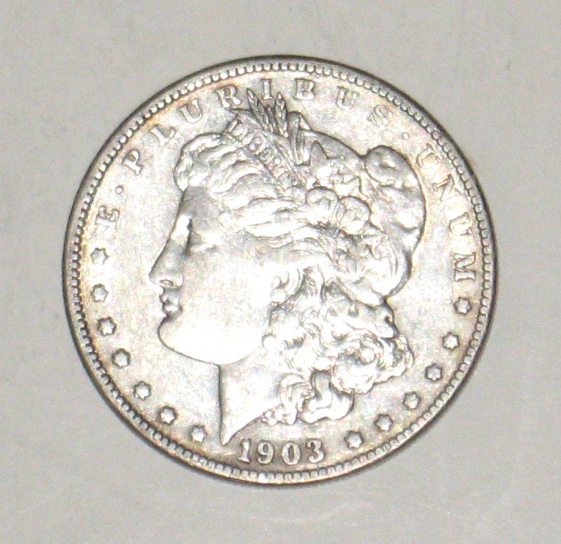 1903-S Morgan Silver Dollar,