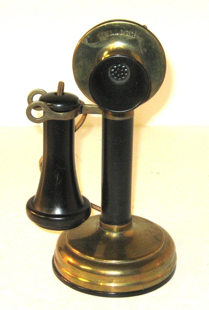 Kellogg candlestick telephone,