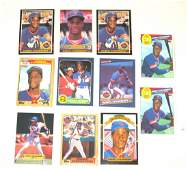11 Darryl Strawberry baseball cards,