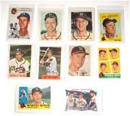 Spahn Mathews 63 Milwaukee Braves 195461
