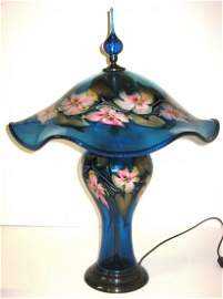 Large Charles Lotton glass lamp,