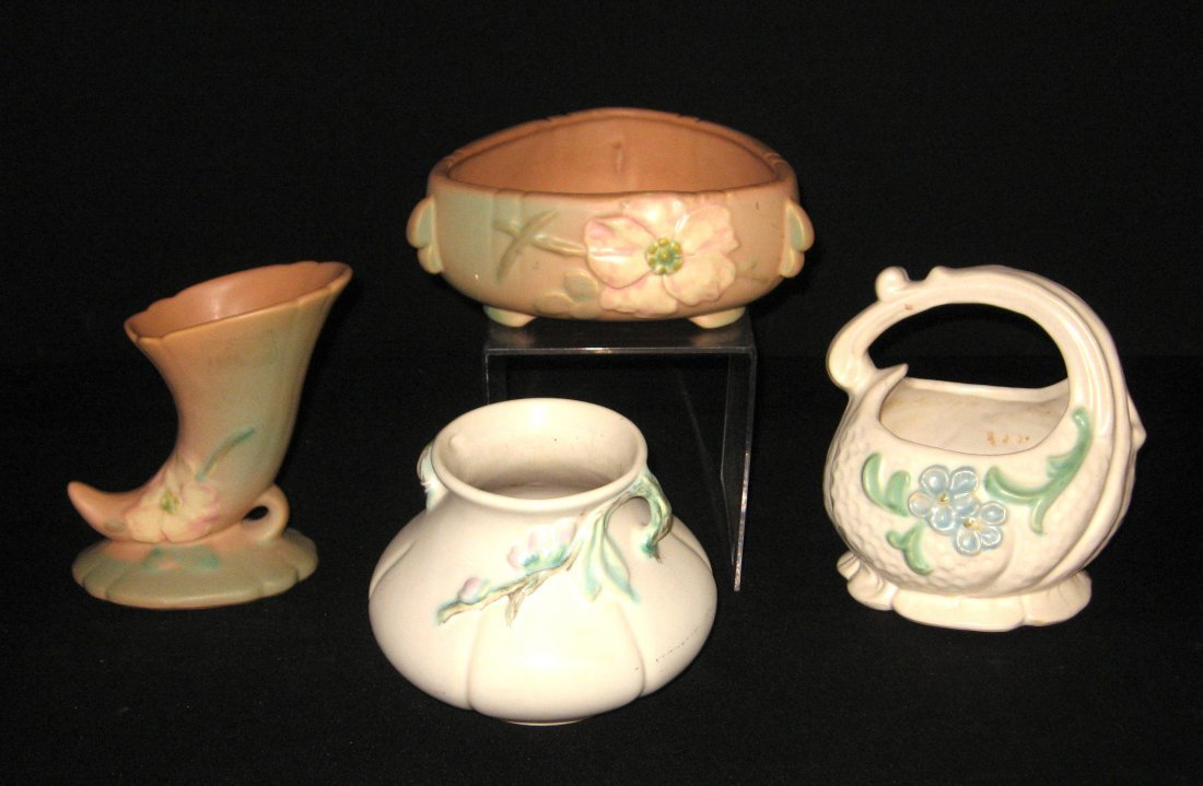 Four piece grouping of Weller pottery,