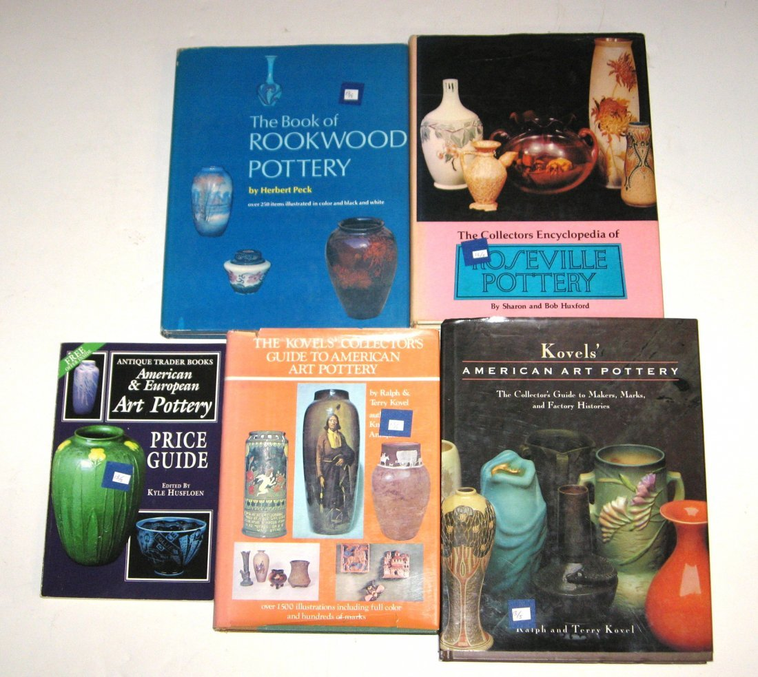 Four books on American Art Pottery,