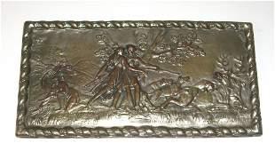 Vintage Copper wall plaque,