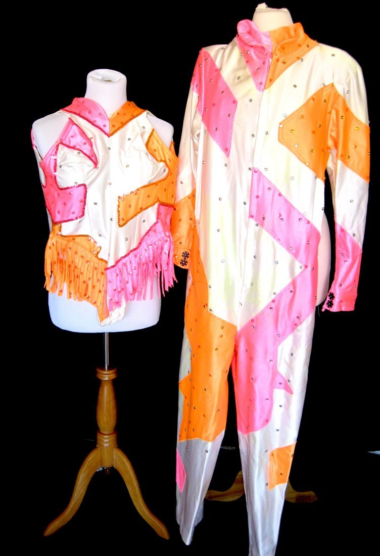 Two Urias Troupe circus costumes,