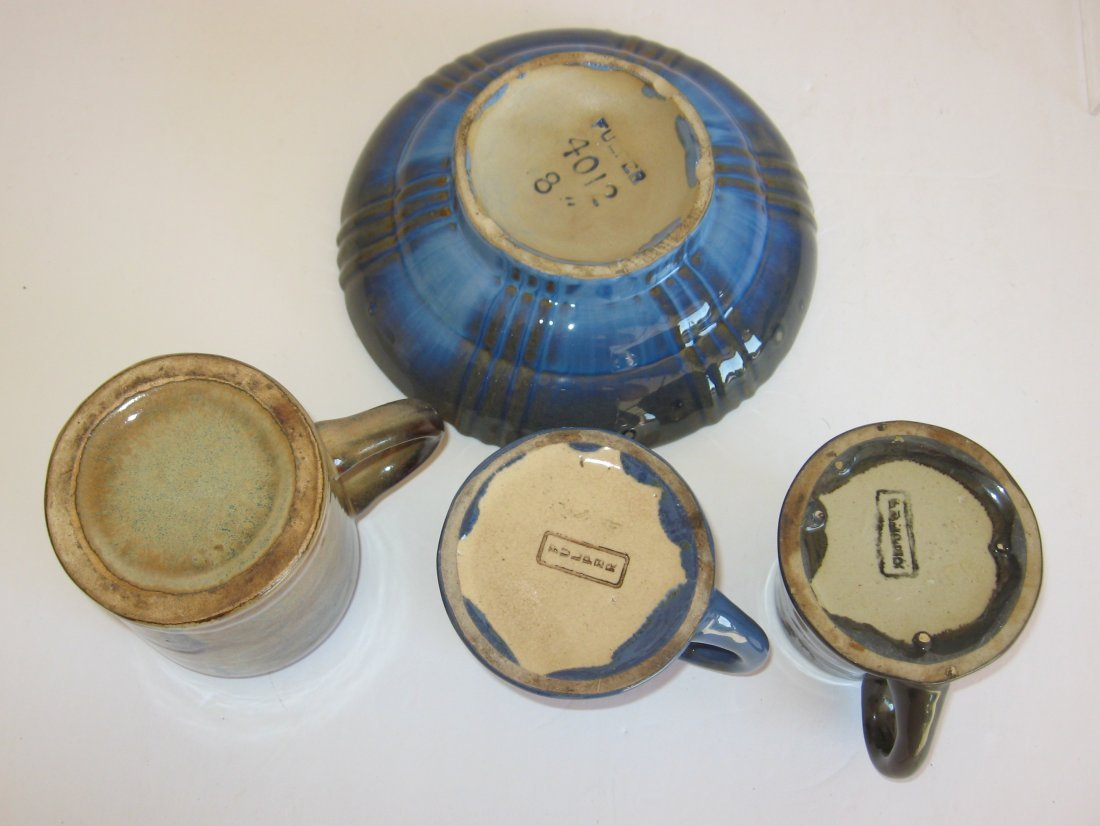Group of four Fulper pottery items, - 2