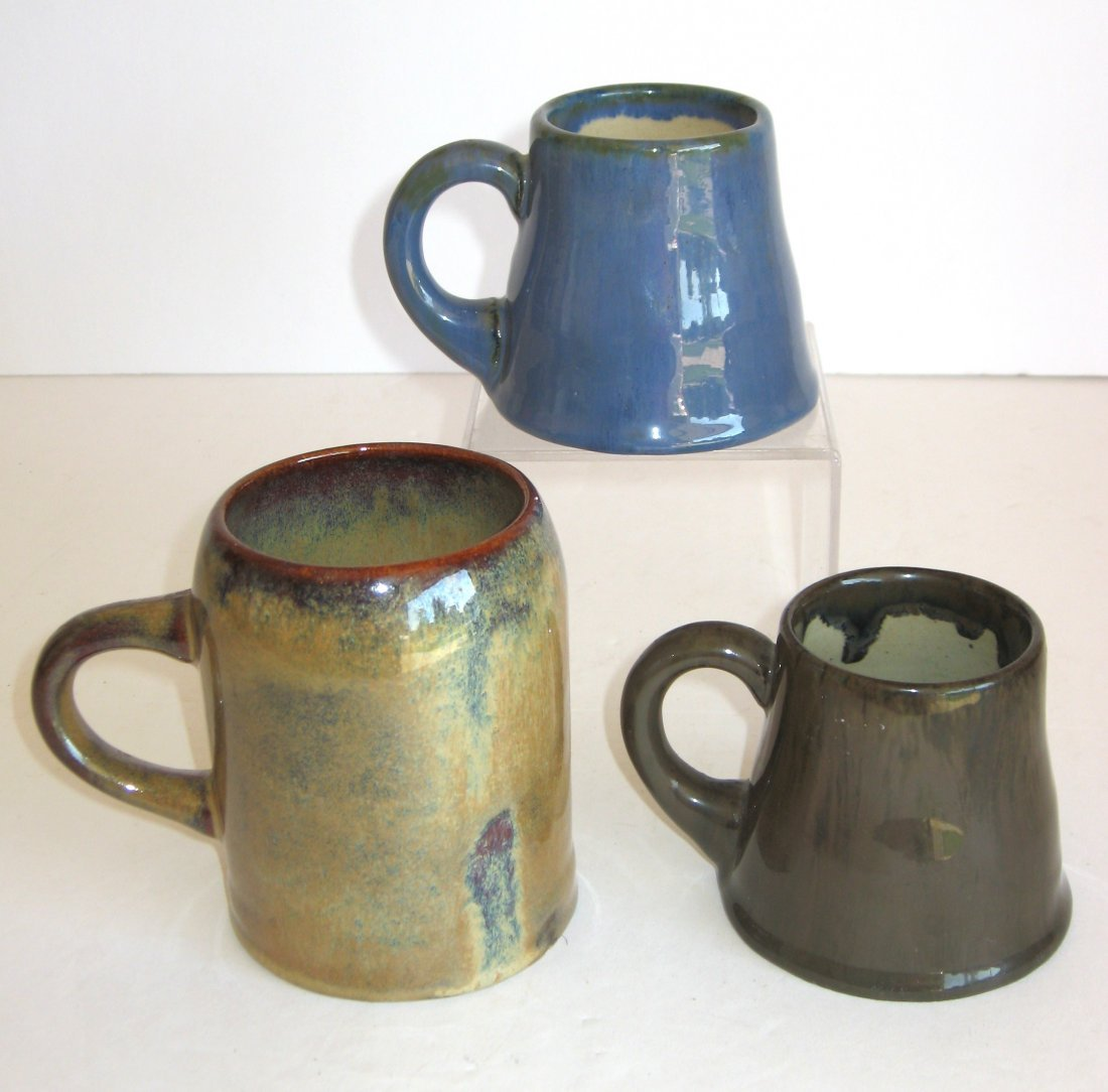 Group of four Fulper pottery items, - 4