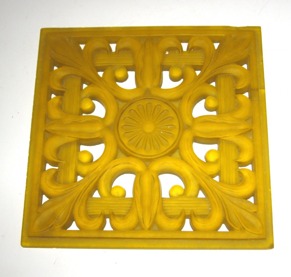 Steuben architectural glass tile,