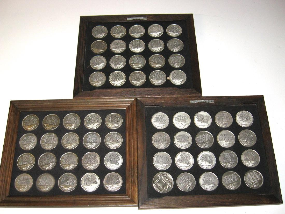 Set of Sterling coins,