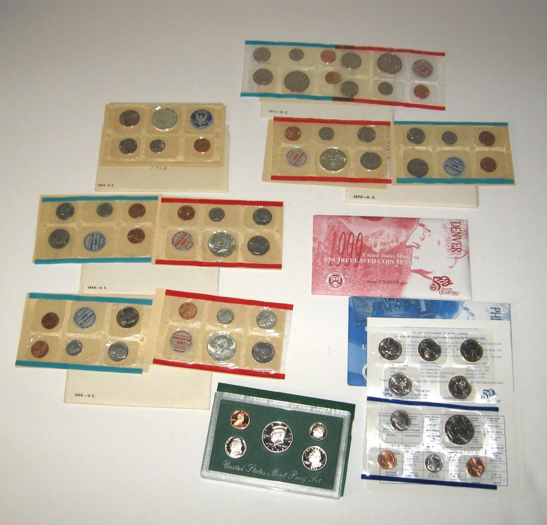 Group of US proof sets,