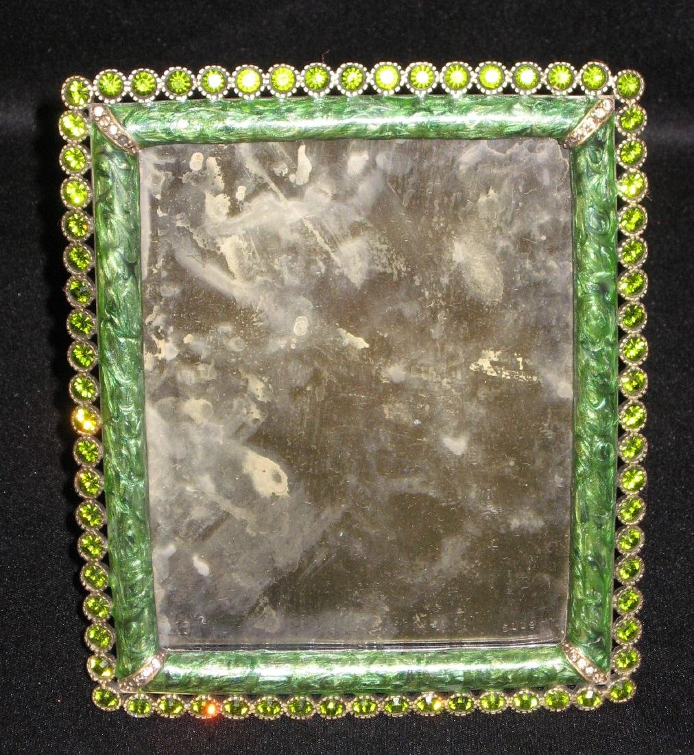 Jay Strongwater jeweled frame,