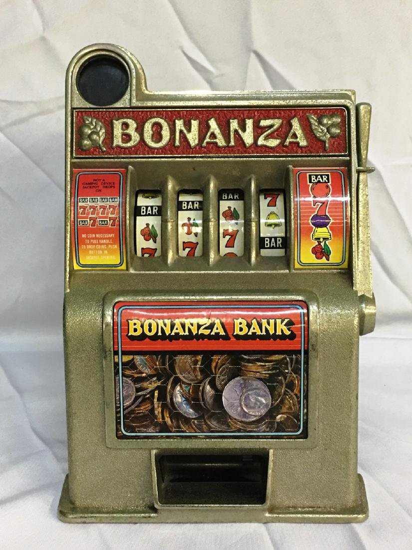 BONANZA COIN BANK WORKING SLOT MACHINE