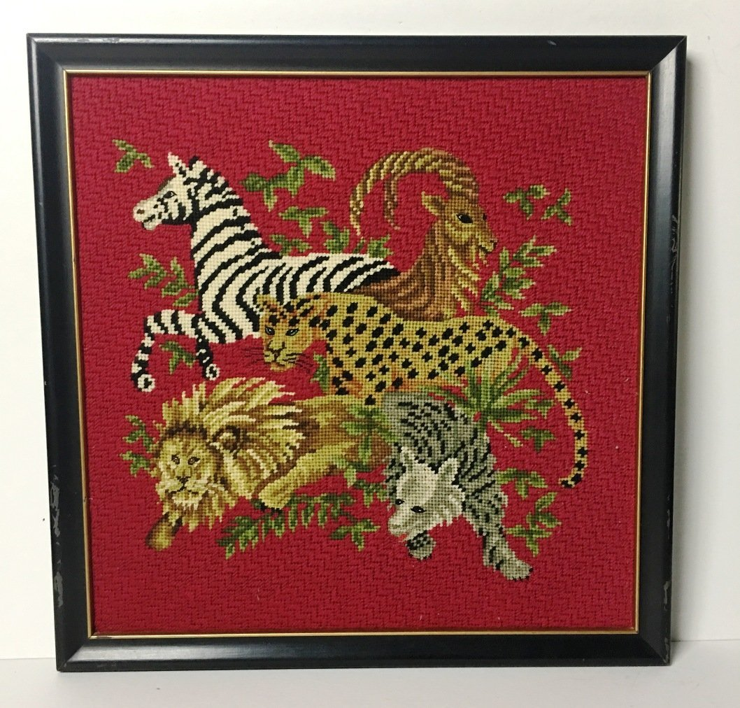 NEEDLEPOINT ANIMALS