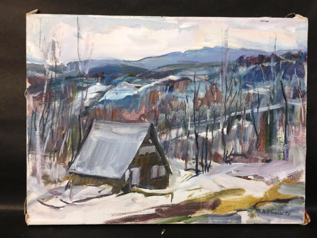 UNFRAMED WINTER IN VERMONT