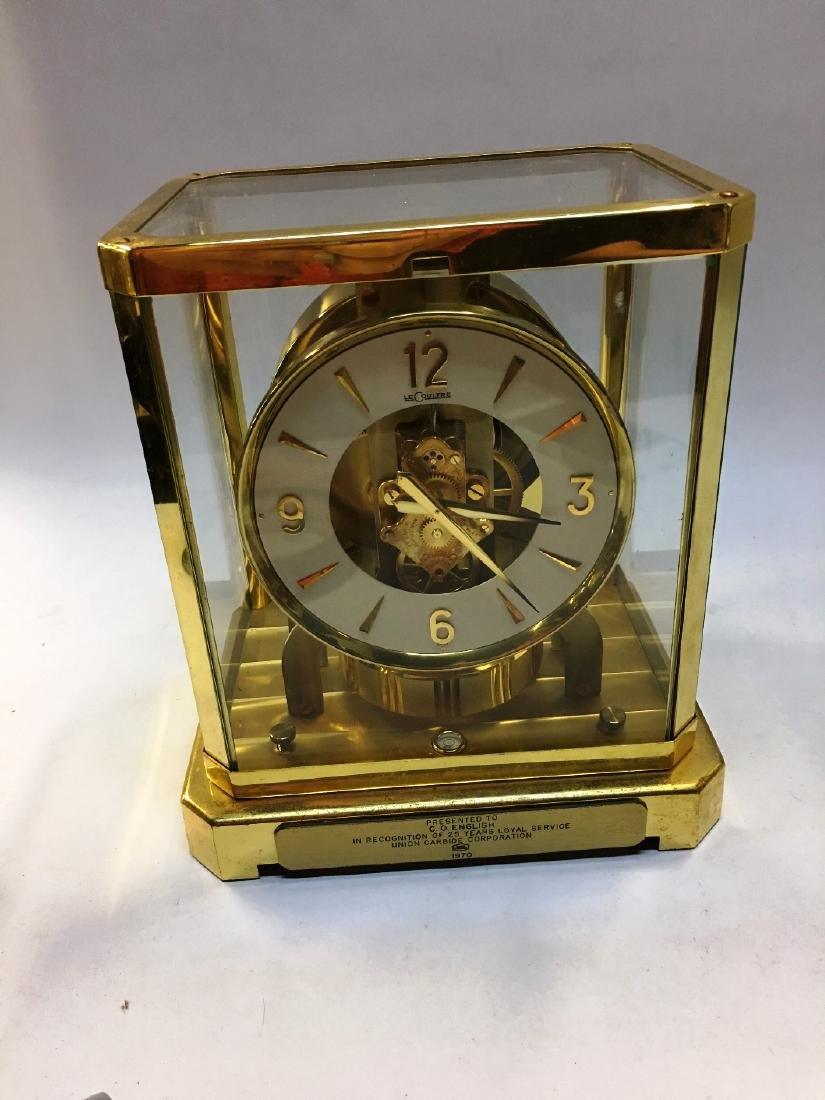 LeCoultre Atmos Mantle Clock 1970's