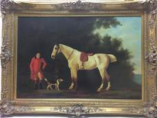 oil on canvas signed by T Simovich