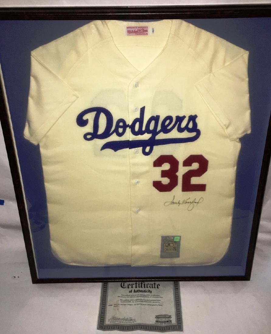 AUTHENTIC BROOKLYN DODGERS #32 BASEBALL JERSEY