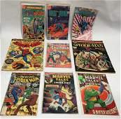 MARVEL COMICS AND DC COMICS