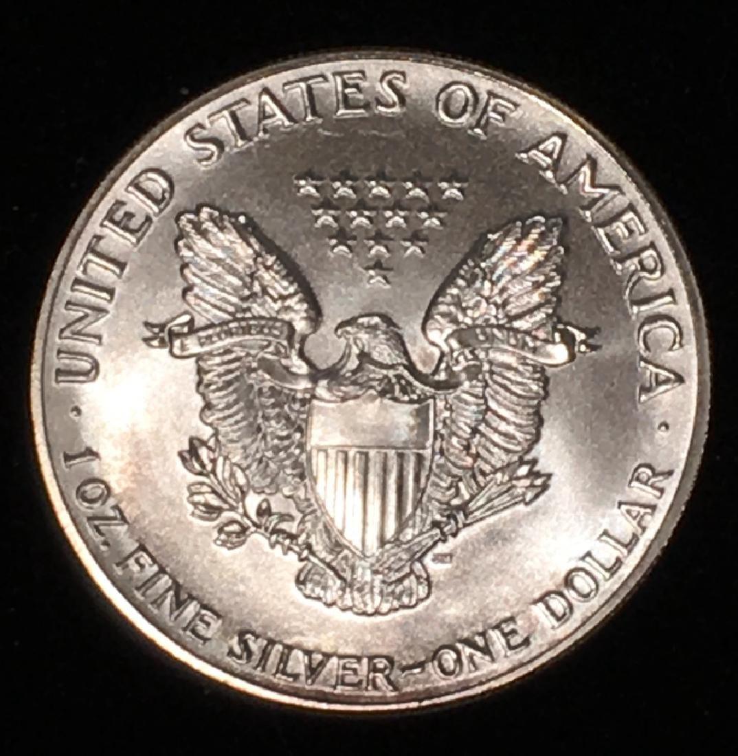 1986 SILVER EAGLE $1 - 2