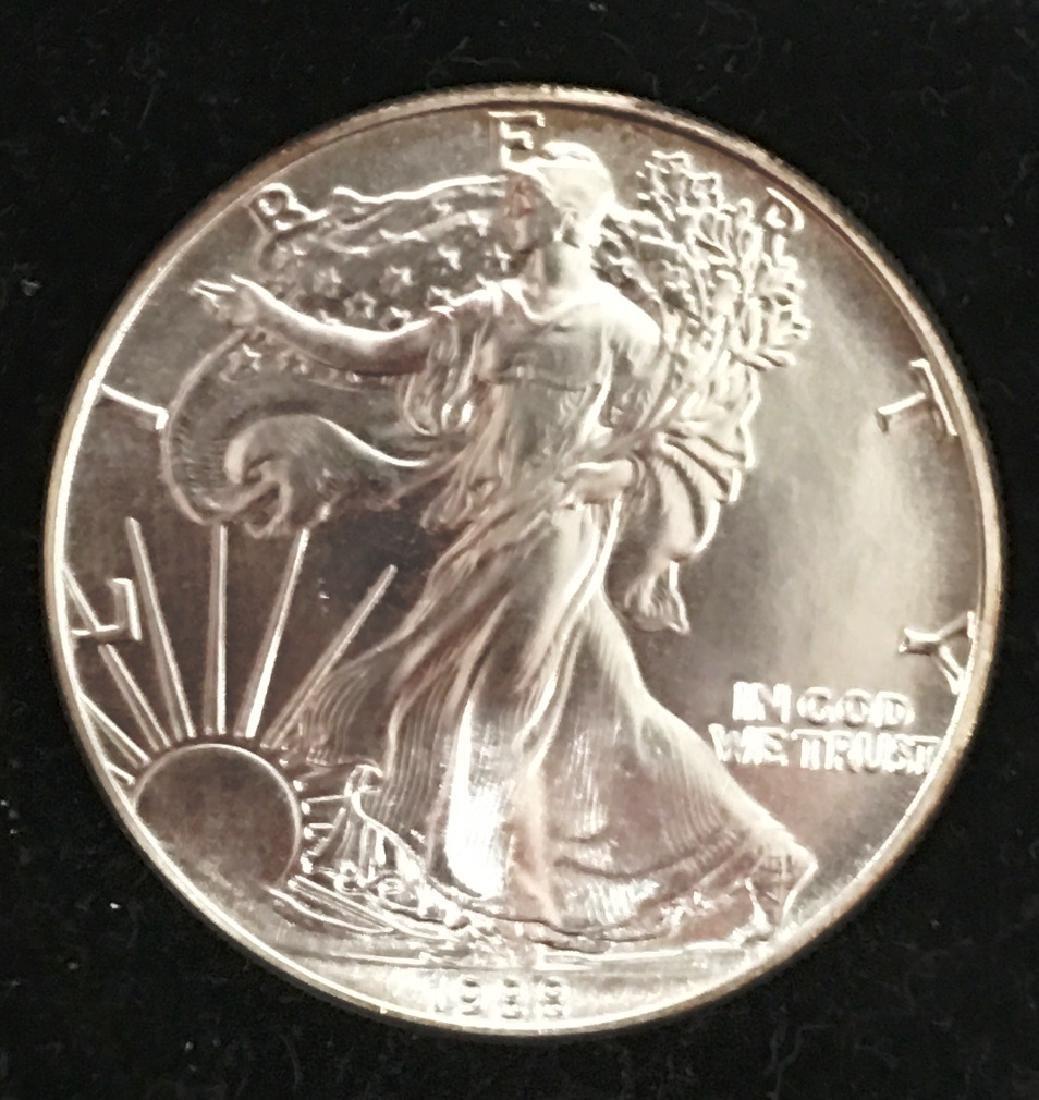 1988 SILVER EAGLE $1