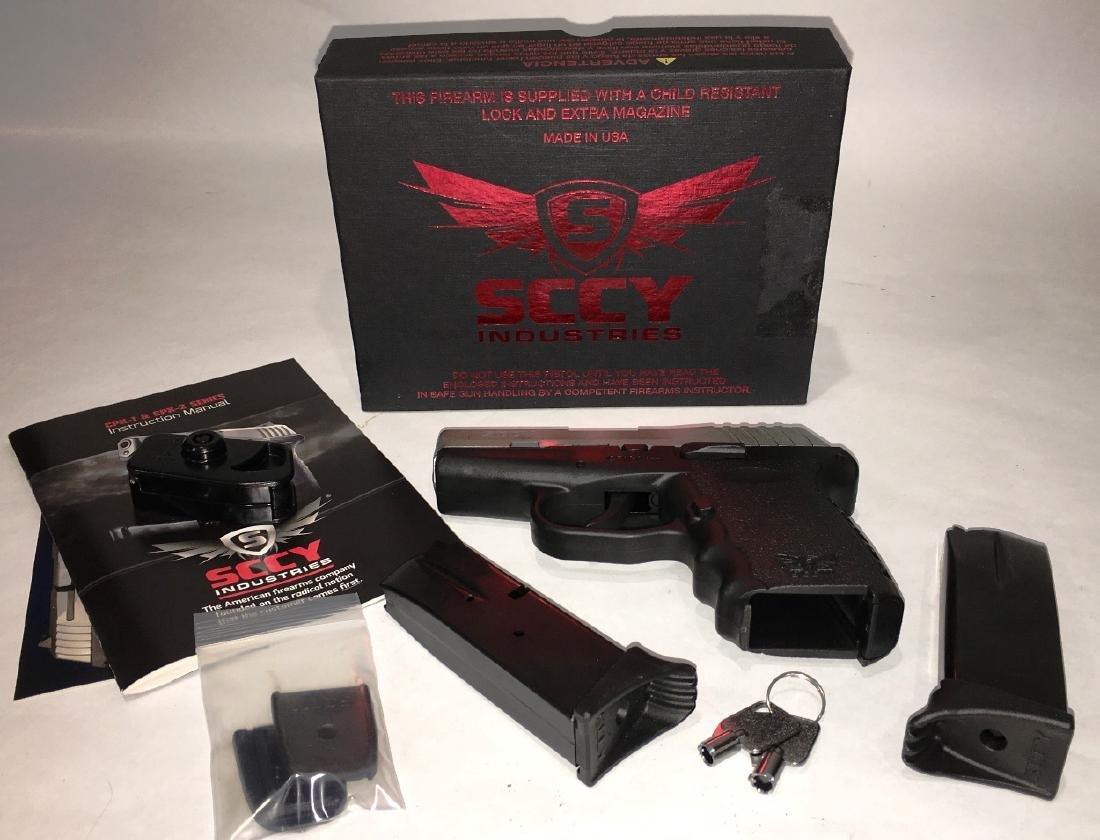 SCCY MODEL CPX-2 9MM HANDGUN - 2