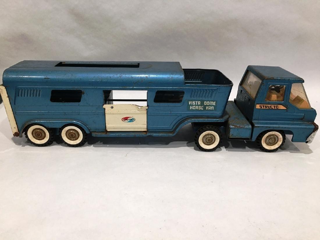 1960 STRUCTO VISTA DOME TRUCK & TRAILER