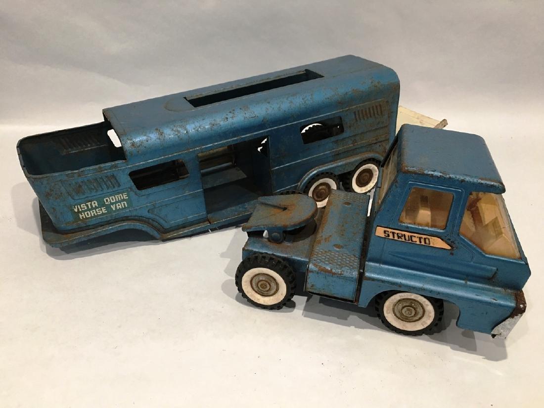 1960 STRUCTO VISTA DOME TRUCK & TRAILER - 2