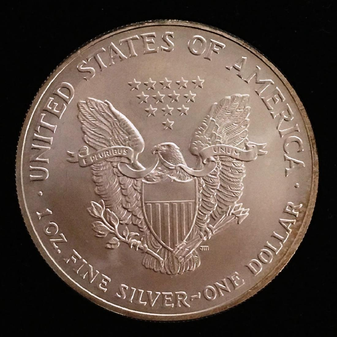 2003 SILVER EAGLE $1 - 2