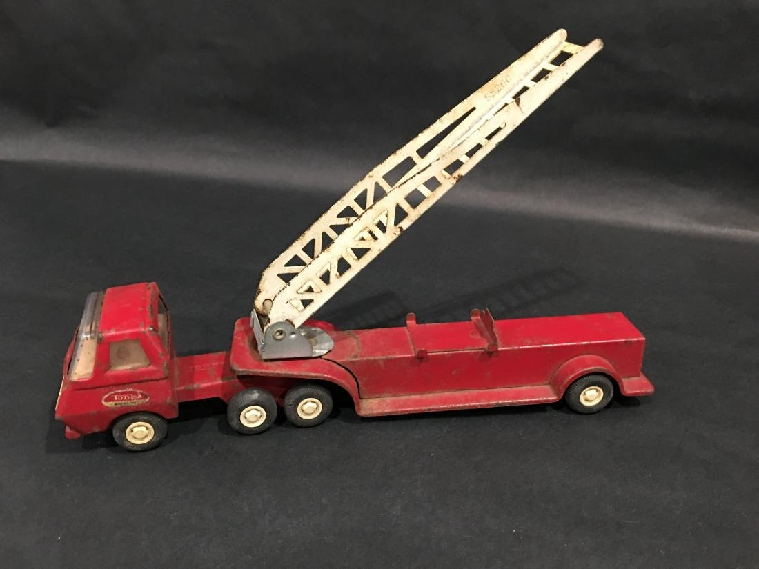 TONKA LADDER FIRE TRUCK - 3